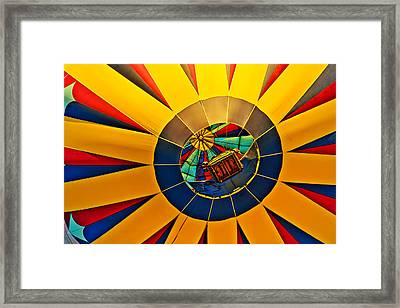 Basket Framed Print