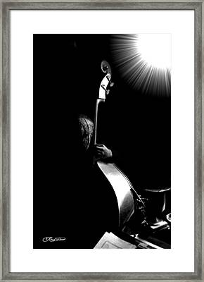 The Bassman Framed Print