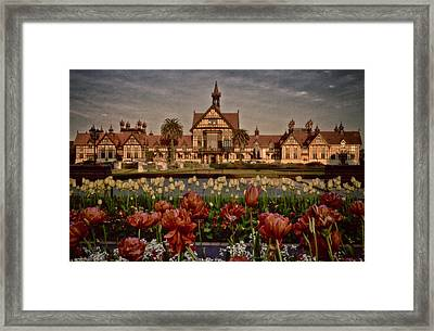 Framed Print featuring the photograph The Bath House by Kim Andelkovic