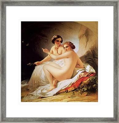 The Bathers Framed Print by Bradley Skeen