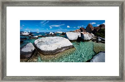 The Baths Framed Print