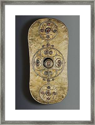 The Battersea Shield. 350 -50 Bc Framed Print