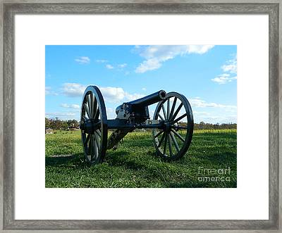 Framed Print featuring the photograph The Battle Is Over - Gettysburg by Emmy Marie Vickers