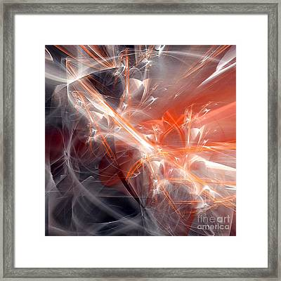 Framed Print featuring the digital art The Battle by Margie Chapman