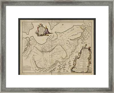 The Battle Of Culloden Framed Print by British Library