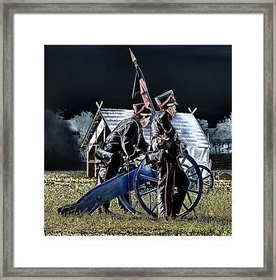 The Battle Of Dennewitz - Cease Fire Framed Print