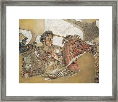 The Battle Of Issus. 1st C. Detail Framed Print by Everett