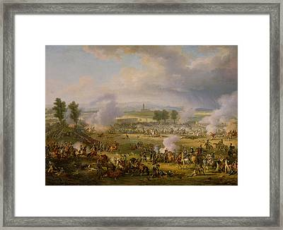 The Battle Of Marengo, 14th June 1800, 1801 Oil On Canvas Framed Print by Louis Lejeune