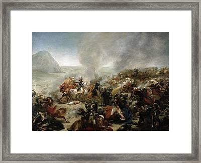 The Battle Of Nazareth Framed Print by Baron Antoine Jean Gros