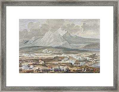 The Battle Of Rivoli, 25 And 26 Nivose Framed Print
