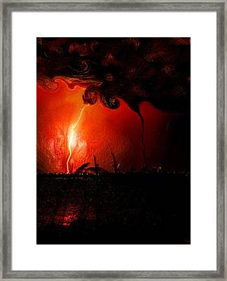 The Battle Of Saint Peter Framed Print by David Lee Thompson
