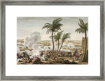 The Battle Of The Pyramids, 3 Framed Print by Jacques Francois Joseph Swebach