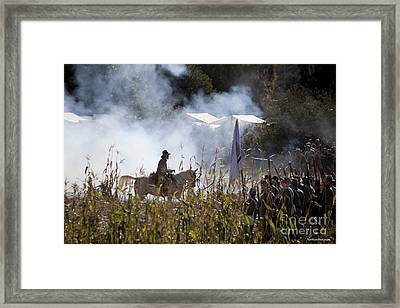 The Battle Scene Framed Print by Ivete Basso Photography