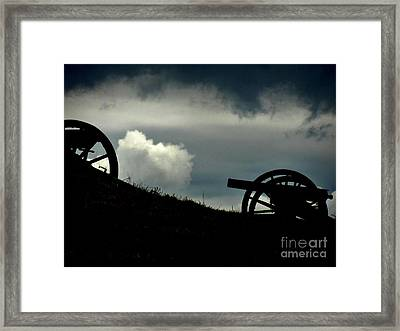 The Battle Framed Print by Sharon Costa