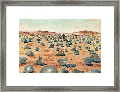 The Battlefield Framed Print by Jera Sky