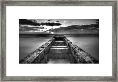 The Bay Framed Print by Nicholas Evans