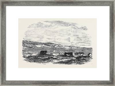 The Bay Of Valparaiso Framed Print by English School