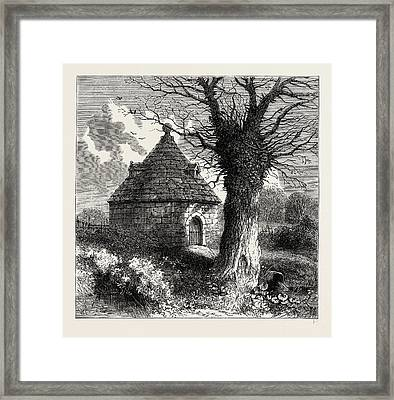 The Bayswater Conduit In 1798 Framed Print by Litz Collection