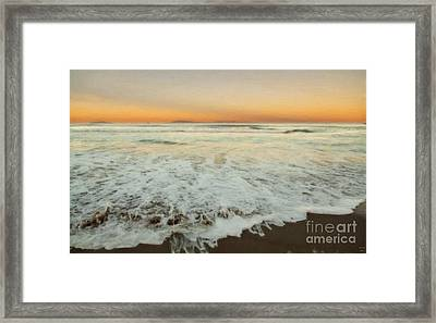 The Beach 1 Framed Print