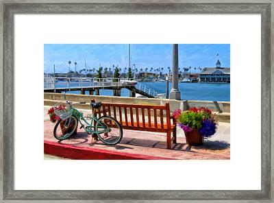 The Beach Cruiser Framed Print