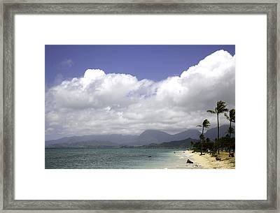 The Beach Framed Print by Joanna Madloch