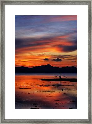 The Beach Framed Print by John Swartz