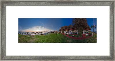 The Beachombers Views Framed Print by Scott Campbell