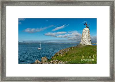 The Beacon  Framed Print