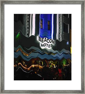 The Beacon Hotel Framed Print