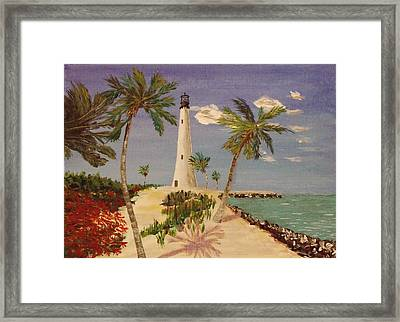 The Beacon Lives Framed Print