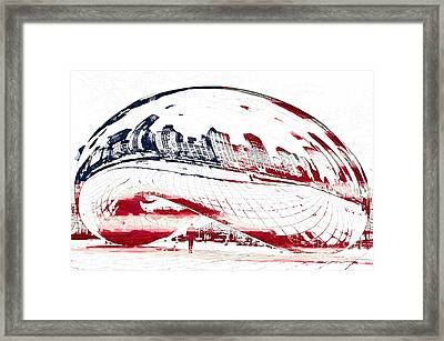 The Bean - American Icon Framed Print by Celestial Images