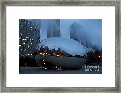 The Bean And Fog Framed Print
