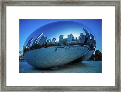 The Bean Framed Print by Jonah  Anderson