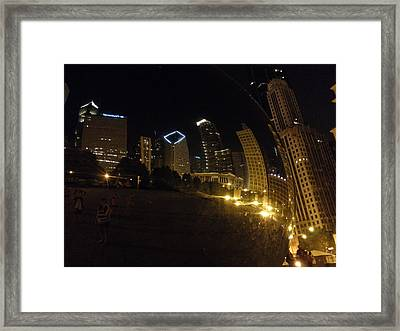 Framed Print featuring the photograph The Bean by Tiffany Erdman