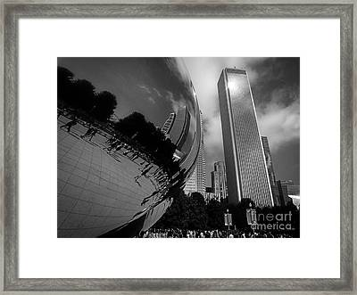 The Beans Reflection Framed Print