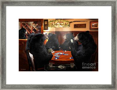 The Bears Club Framed Print by Michael A Woodside