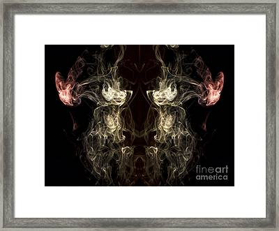The Beast Framed Print by Edward Fielding