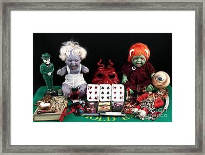 The Beast Framed Print by John Rizzuto