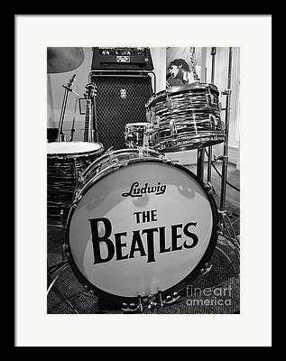 Rock And Roll Band Framed Prints