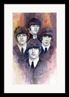 Beatle Framed Prints