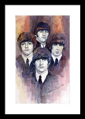 The Beatles Framed Prints