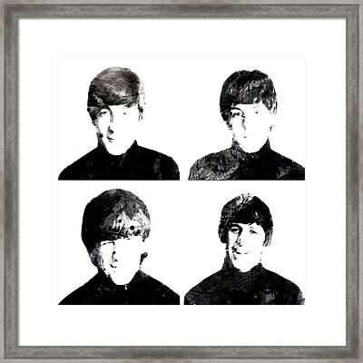 The Beatles 1a Framed Print