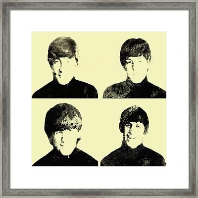 The Beatles 1b Framed Print