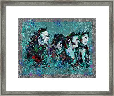 The Beatles 9 Framed Print by Bekim Art