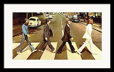 Abbey Road Framed Prints