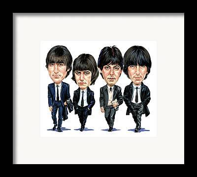 John Lennon Framed Prints