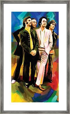 The Beatles Artwork 3 Framed Print