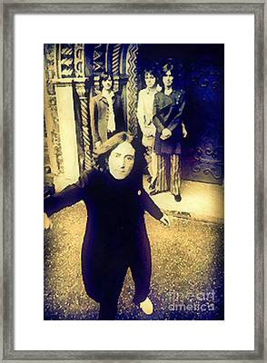 The Beatles - Camera Adjustment Framed Print by Paulette B Wright