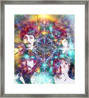 The Beatles Framed Print by D Walton