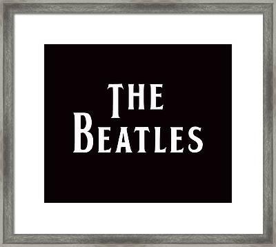 The Beatles Framed Print by Marvin Blaine